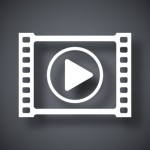 Video delivery and distribution icon